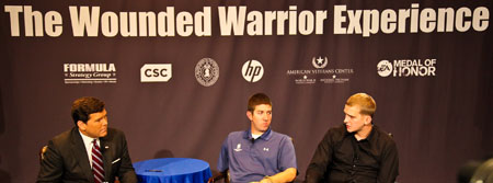 Photo by Tony Powell. The Wounded Warrior Experience. November 5, 2010
